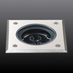 Metro-D 100x100mm - 20° ajustable - sans pot d'encastrement