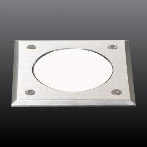 Metro-S 100x100mm - COB (verre imprimé blanc) - sans pot d'encastrement